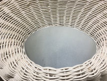 Top of weave basket Royalty Free Stock Photo