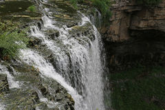The Top of Webster's Falls Stock Image