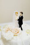 Top of wedding cake Stock Photo