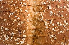 Top of wheat bread. Royalty Free Stock Image