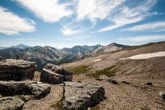 Top of whistler mountain Royalty Free Stock Photo