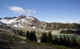 Top of whistler mountain Stock Photos