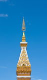 Top of white pagoda Royalty Free Stock Photography
