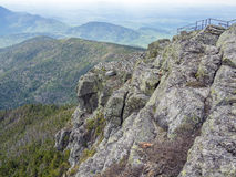 On top of Whiteface Mountain Royalty Free Stock Photos