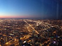 Top of Willis Tower stock photos