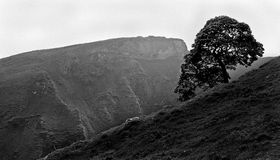 The Top of Winnats Pass Royalty Free Stock Photography