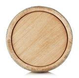The top of a wooden barrel Stock Photos