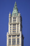 Top of the Woolworth building. Was once the tallest skyscraper until 1930, Manhattan, New York, America, USA Royalty Free Stock Image