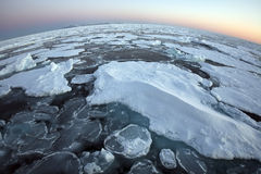 At the top of the world - Arctic Ocean Stock Photo