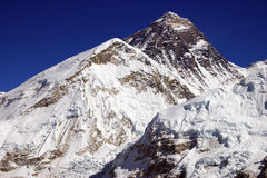 Top of the world Everest 8848m Royalty Free Stock Photo