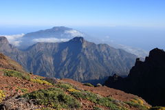 On top of the world La Palma Royalty Free Stock Photo