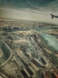 From the top YAS island in Abudhabi & x28; UAE & x29;. The island's development project was initiated in 2006 by Abu Dhabi-based Aldar Properties, with the aim Royalty Free Stock Image