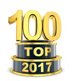 Top 100 of the year Royalty Free Stock Images