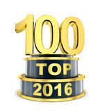 Top 100 of the year Royalty Free Stock Photos
