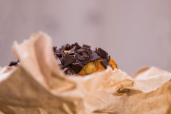 Top of yummy muffin Royalty Free Stock Images