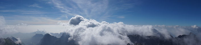 From on top the zenith Royalty Free Stock Images