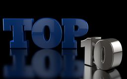 Top 10 zufriedener Marketing-Titel Lizenzfreie Stockbilder