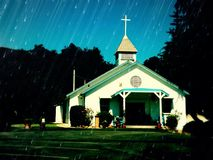 Topanga jaru Kalifornia kaplica Zdjęcie Royalty Free