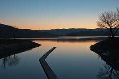 topaz озера Стоковое Изображение