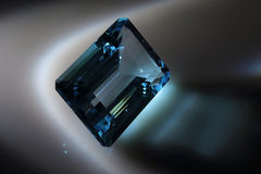 Topaz azul Imagen de archivo