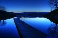Topaz Lake royalty free stock images