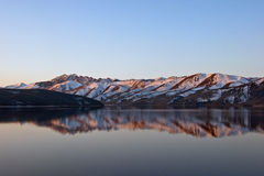 Topaz Lake Reflection Royalty Free Stock Photography