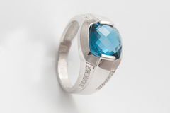 Topaz  ring Stock Photos