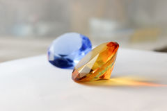 Topaz and Sapphire Stock Image