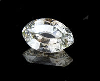 Topaz. Vitreous, mineral,geology, gem, geological, gemstone stock photo