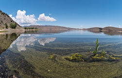 Topazowy jezioro Zdjęcia Royalty Free