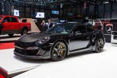 TopCar Porsche 911 Turbo Fotografia Stock