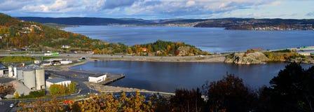 Topdalsfjorden, kristiansand Stock Photography