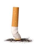 Tope de cigarrillo Imágenes de archivo libres de regalías