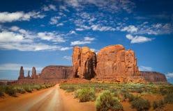Tope del camello, valle del monumento Imagen de archivo libre de regalías