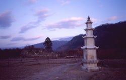 Tope (stupa) Fotografie Stock