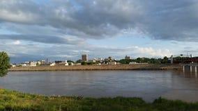 Topeka,堪萨斯地平线  免版税库存图片