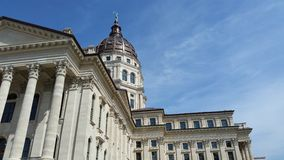 Topeka Capitol Building Stock Photography