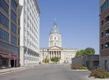 Topeka Kansas Royalty-vrije Stock Afbeeldingen