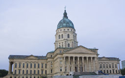 Topeka, Kansas - Capitólio do estado Foto de Stock