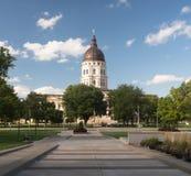 Topeka Kansas Capital Capitol Building Downtown City Skyline Royalty Free Stock Image