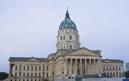 Topeka, Kansas - het Capitool van de Staat Stock Foto