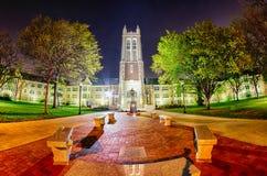 Topeka Kansas im Stadtzentrum gelegen nachts Lizenzfreies Stockfoto