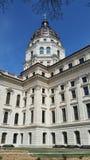 Topeka-Kapitol-Gebäude West Lizenzfreies Stockfoto