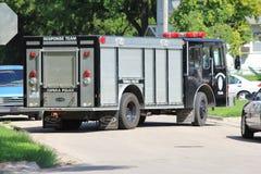 Topeka Police Response Team Vehicle Royalty Free Stock Photography