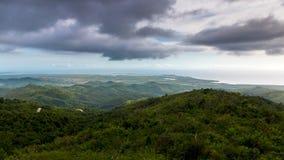 Topes de Collantes国家公园 库存图片