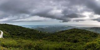 Topes de Collantes国家公园 图库摄影