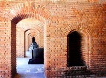 Topes y arcos del cañón Imágenes de archivo libres de regalías