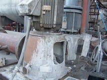 Topetones dañados agua de la turbina Imágenes de archivo libres de regalías