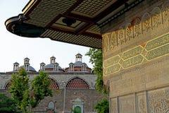 Tophane-i Amire Historical Building in Tophane, Karakoy, Istanbul, Turkey. June 2014. Tophane-i Amire Historical Building view in Tophane, Karakoy, Istanbul Stock Images