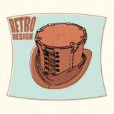 Tophat retro design Stock Photo